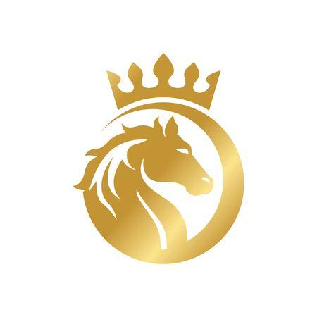 Photo pour Horse Logo Template - image libre de droit