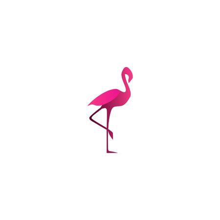 Foto de Flamingo Vector Template - Imagen libre de derechos