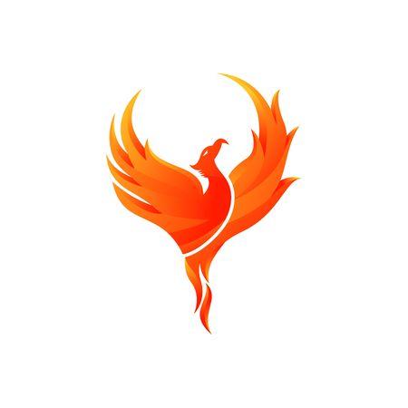 Foto de Phoenix Vector Template - Imagen libre de derechos