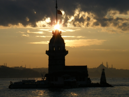 Maidens tower-istanbul Turkey
