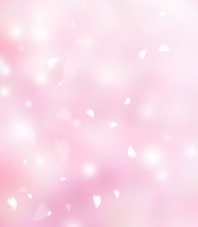 Photo for Pink flower petals background - Royalty Free Image