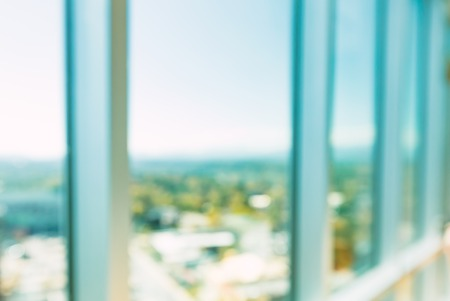 Foto de Abstract defocused bright modern luxury interior space - Imagen libre de derechos
