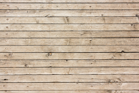 Foto de Background of weathered used wooden surface texture. - Imagen libre de derechos