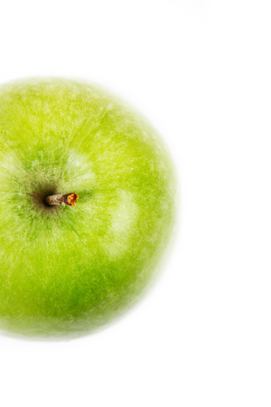Foto de Isolated green apple - Imagen libre de derechos