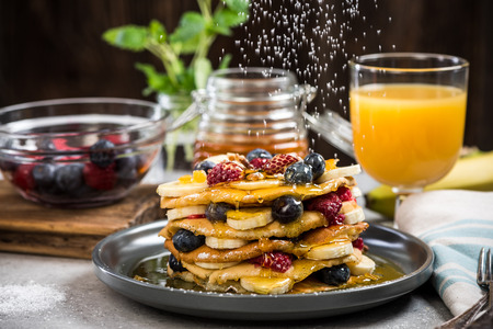 Photo for Celebrating Pancake Day or Shrove Tuesday. - Royalty Free Image