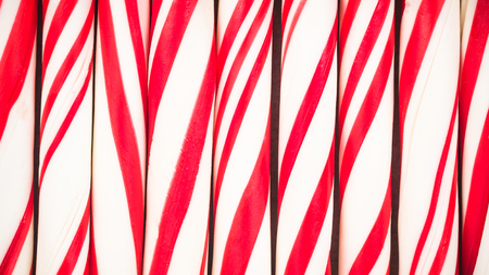 Photo for Peppermint candy cane,close up. - Royalty Free Image