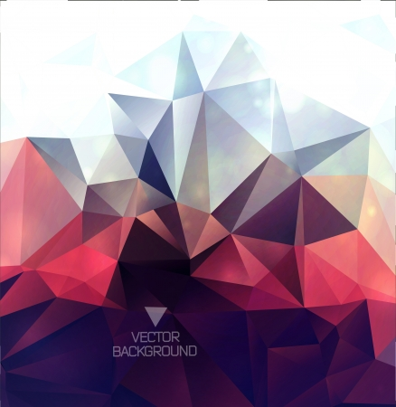 Illustration for Abstract polygonal background/ triangles background - Royalty Free Image