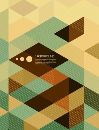 Foto de Abstract Book cover Background design/retro mosaic brochure - Imagen libre de derechos