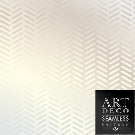 Ilustración de Art Deco seamless vintage wallpaper pattern can be used for invitation, congratulation - Imagen libre de derechos
