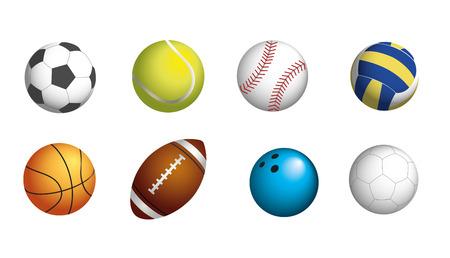 Ilustración de SPORT BALLS SET - Imagen libre de derechos