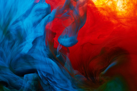 Foto per Abstract paint splash background - Immagine Royalty Free