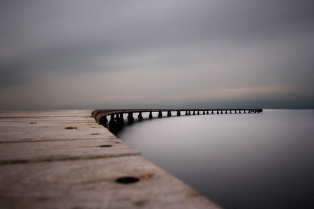 Photo for pier - Royalty Free Image