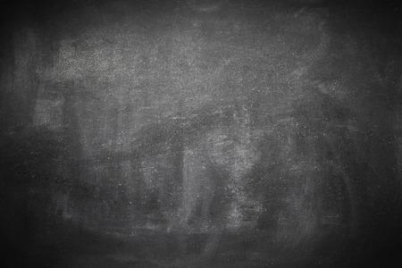 Photo pour Clean brushed educational blackboard frame - image libre de droit