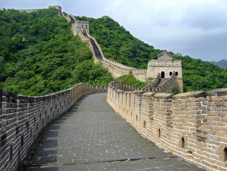 Photo pour The Mutianyu Great Wall - image libre de droit