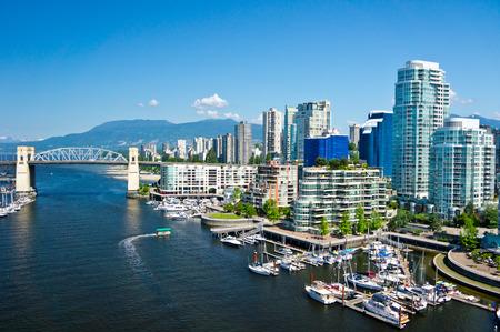 Foto de Beautiful view of Vancouver, British Columbia, Canada - Imagen libre de derechos