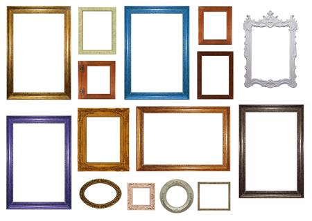 Photo pour Set of picture frames - image libre de droit