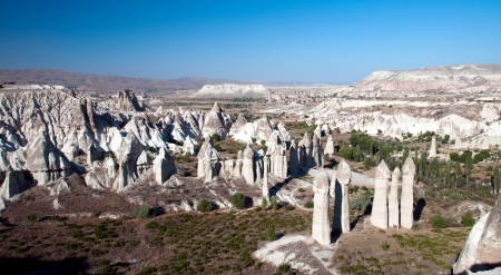 Fairy Chimneys of Cappadocia, Popular Travel Destination in Central Turkey