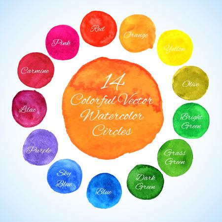 Illustration pour Colorful template for your designs, prints and illustrations - image libre de droit