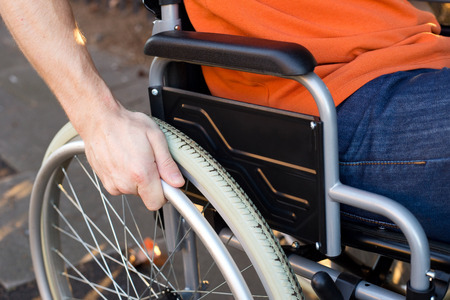 Photo pour wheelchair - image libre de droit