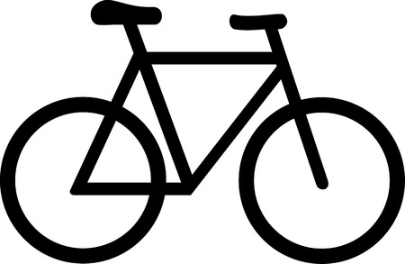 Illustrazione per Bike Bicycle Symbol - Immagini Royalty Free