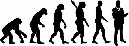 Illustration pour Lawyer Evolution - image libre de droit