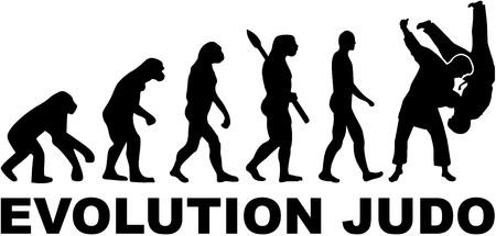Illustration pour Evolution judo - image libre de droit