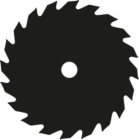 Ilustración de Saw blade - Imagen libre de derechos