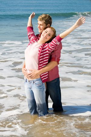 Photo for carefree couple - Royalty Free Image