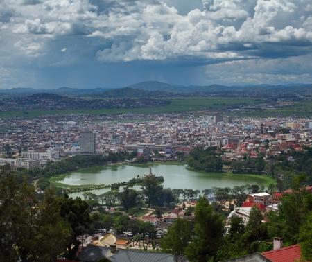 Foto de City of Antananarivo. Madagascar - Imagen libre de derechos