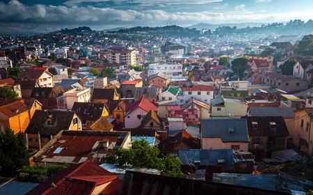 Foto de City of Antananarivo at sunny day. Madagascar - Imagen libre de derechos