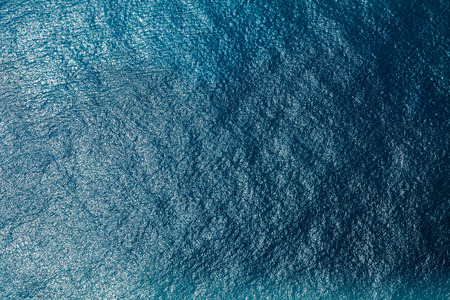 Photo pour Sea surface aerial view - image libre de droit