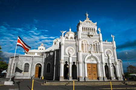 Photo pour Basilica de Nuestra Senora de los Angeles - Roman Catholic basilica in the city of Cartago, Costa Rica - image libre de droit
