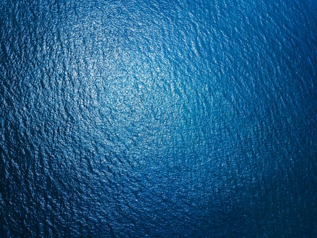 Photo pour Aerial view of sea surface - image libre de droit