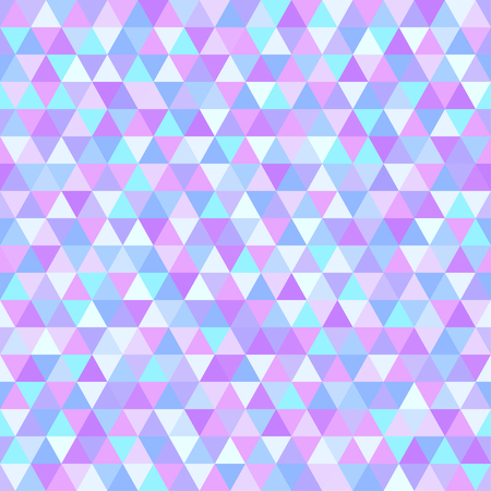 Illustration pour Seamless triangle pattern. Abstract geometric wallpaper of the surface. Tiled background. Light colors. Print for polygraphy, posters, t-shirts and textiles. Mosaic texture. Doodle for design - image libre de droit