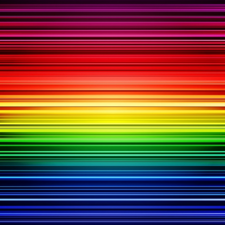 Illustration for Abstract rainbow stripes colorful background.  - Royalty Free Image