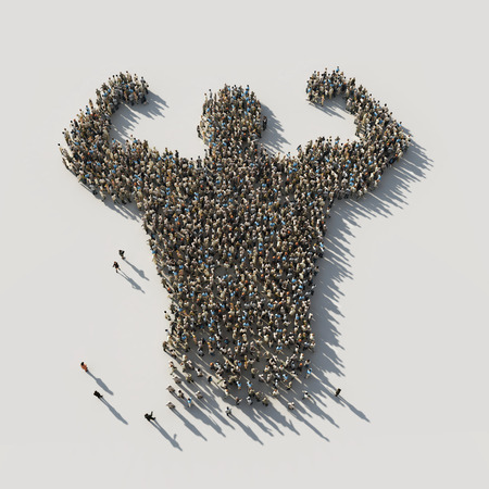 Photo for strength in unity - Royalty Free Image