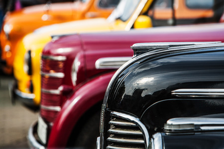 Photo for parade of vintage luxury cars - Royalty Free Image