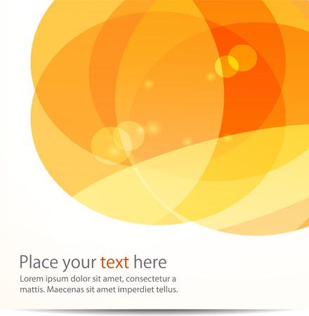 Illustration pour Abstract light vector background  ball, round - image libre de droit