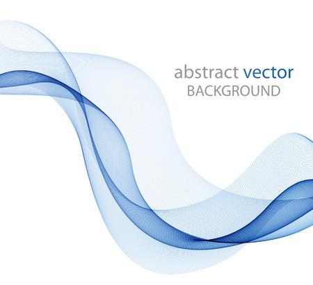 Illustration pour Abstract color wave design element, concept decoration - image libre de droit