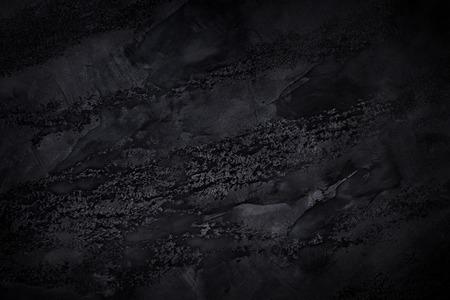 Photo pour Black textured background. Creative darkness concept - image libre de droit