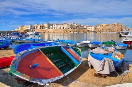 Photo pour Panoramic view of Gallipoli  Puglia  Italy   - image libre de droit