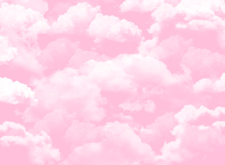 Photo pour pink sky background with clouds - image libre de droit