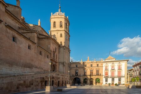 Photo for View at the Bell tower of Cathedral San Patrick in Lorca - Spain - Royalty Free Image