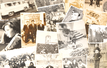 Photo for Old photographs - Royalty Free Image