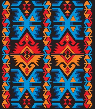 Foto de vector mexican ethnic ornaments - Imagen libre de derechos