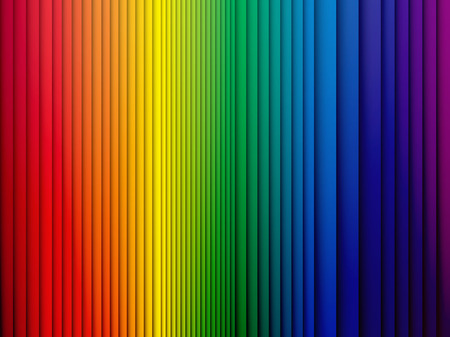 Ilustración de color rainbow stripes background with shadow - Imagen libre de derechos