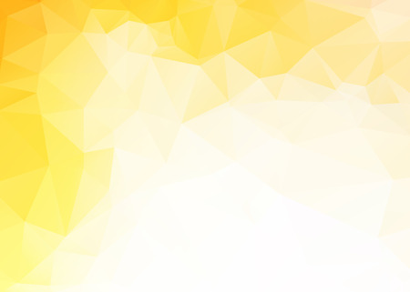 Illustration pour Vector simple abstract yellow triangles background - image libre de droit