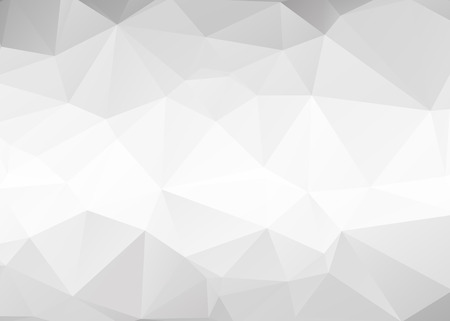 Illustration for Vector abstract gray triangles background - Royalty Free Image