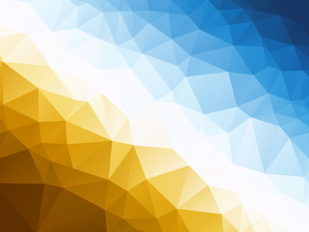 Illustration for Abstract blue yellow background - Royalty Free Image