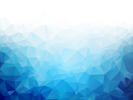 Ilustración de Geometric blue ice texture background - Imagen libre de derechos